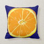Orange slice American Mojo pillow