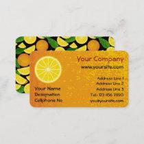 Orange Slice Business Card