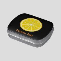 Orange Slice Candy Tin