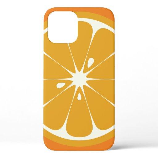 Orange Slice iPhone 12 Case