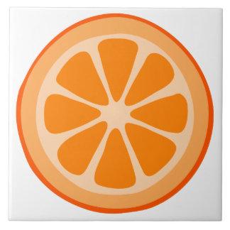 Orange Slice Ceramic Tile