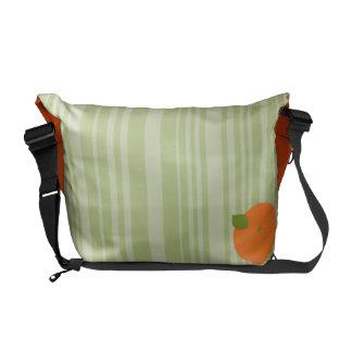 Orange Slice Courier Bag