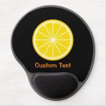 Orange Slice Gel Mouse Pad
