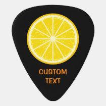 Orange Slice Guitar Pick
