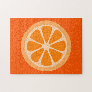 Orange Slice Jigsaw Puzzle