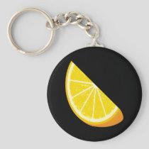 Orange Slice Keychain