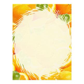 Orange Slice Letterhead