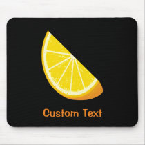 Orange Slice Mouse Pad
