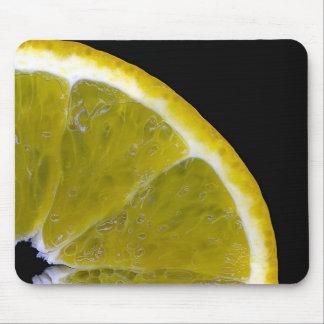 Orange slice mouse mat