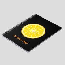 Orange Slice Notebook