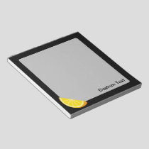 Orange Slice Notepad