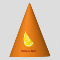 Orange Slice Party Hat