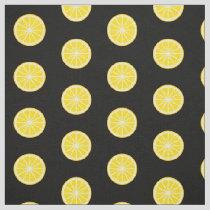 Orange Slice Pattern Fabric