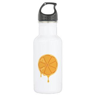 Orange Slice 18oz Water Bottle