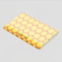 Orange Slice Post-it Notes