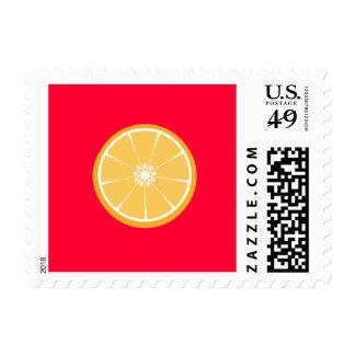 Orange slice postage
