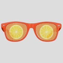 Orange Slice Retro Sunglasses