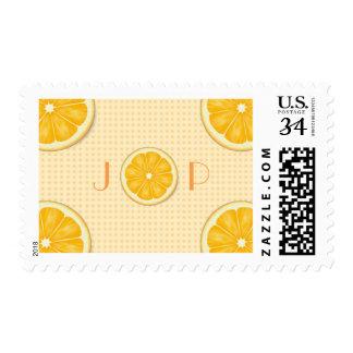 Orange Slice Save the Dates Stamps