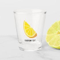 Orange Slice Shot Glass
