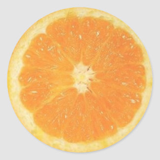 Orange Slice Sticker