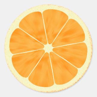 Orange Slice Stickers