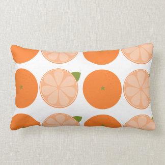 Orange Slice Throw Pillow