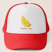 Orange Slice Trucker Hat