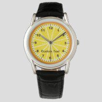 Orange Slice Watch