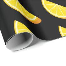 Orange Slice Wrapping Paper