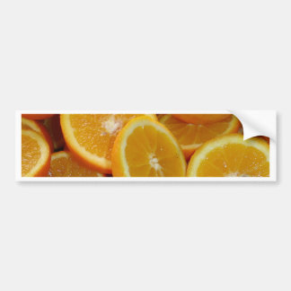 Orange Slices Bumper Sticker