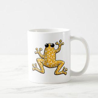 Orange Slices Frog Coffee Mug