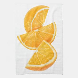 Orange slices kitchen towel