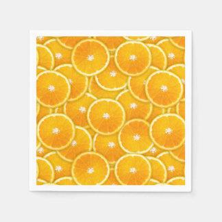 Orange slices napkin