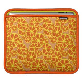 Orange Slices Pattern iPad Sleeve