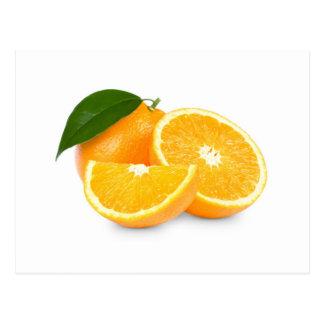 Orange Slices Postcard