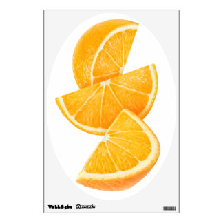 Orange slices wall decal