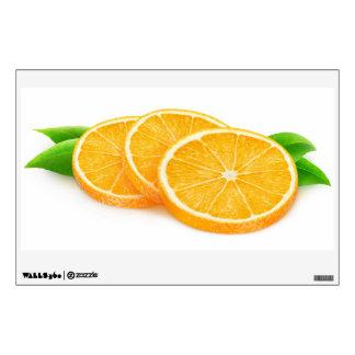 Orange slices wall sticker