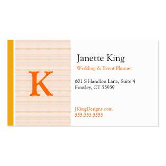 Orange Slush Double-Sided Standard Business Cards (Pack Of 100)