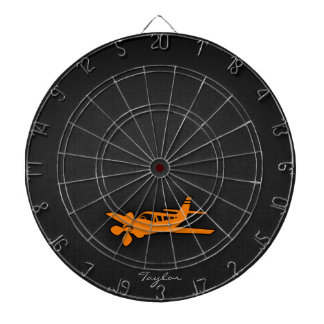 Orange Small Airplane Dartboards