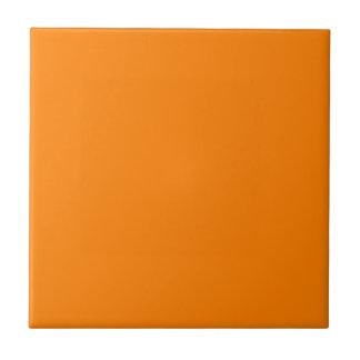 Orange Small Square Tile
