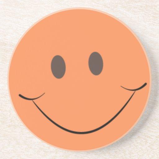 Orange Smile Coasters