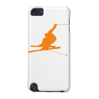 Orange Snow Ski iPod Touch (5th Generation) Case