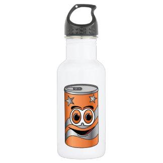 Orange Soda Can Cartoon Stainless Steel Water Bottle