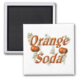 Orange Soda Magnet