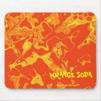 ORANGE SODA MOUSE PAD