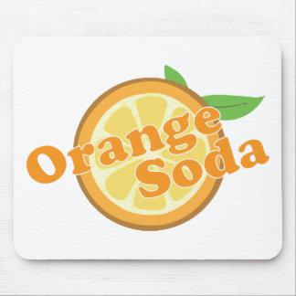 Orange Soda Mousepads