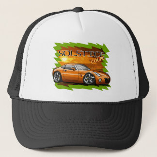 Orange Solstice Coupe Trucker Hat