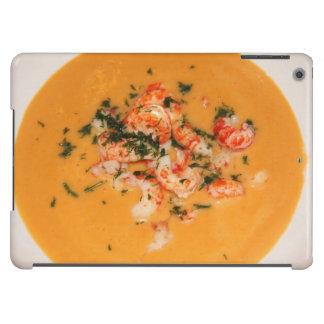 Orange soup iPad air cover