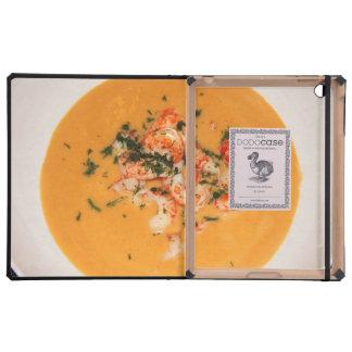 Orange soup case for iPad
