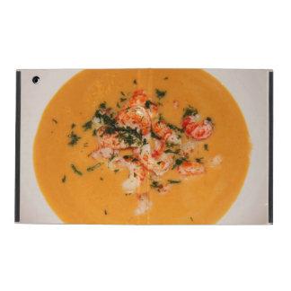 Orange soup iPad cover